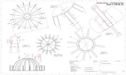 Fabrication and assembly drawing